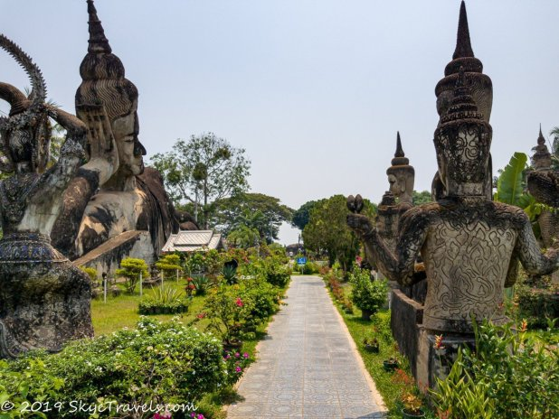 Buddha Park Statues #4