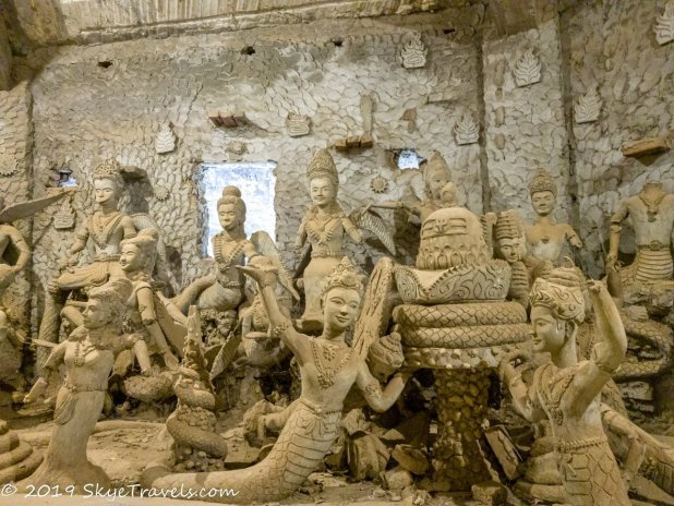 Inside the Turnip at the Buddha Park #8