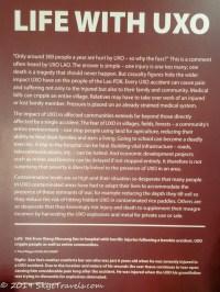 UXO Museum Information Board #8