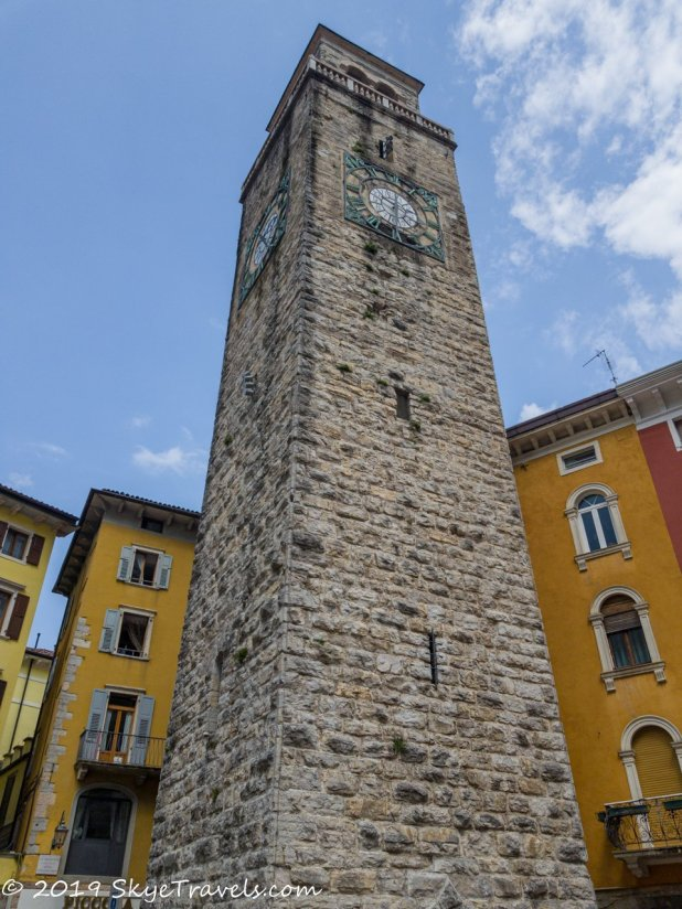 Apponal Tower in Riva del Garda