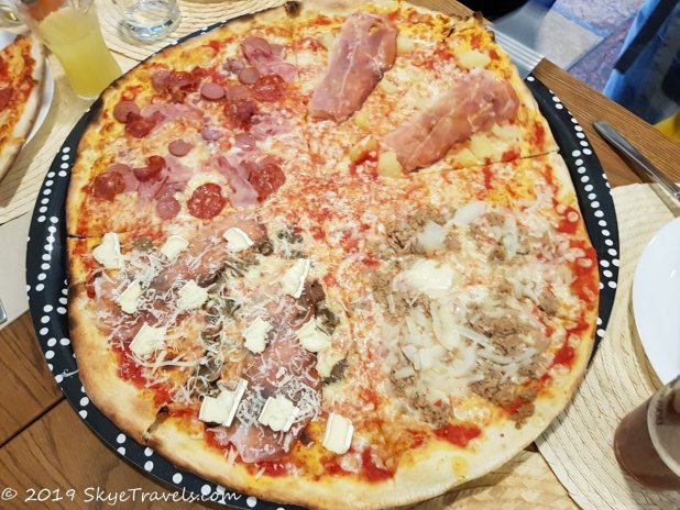 Pizza in Trento