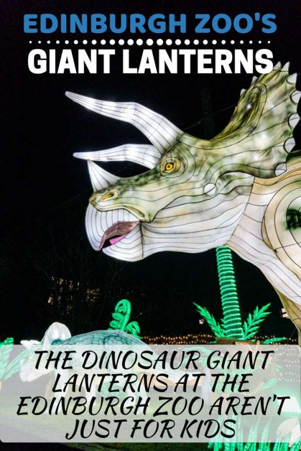 Edinburgh Zoo's Giant Lanterns Pin