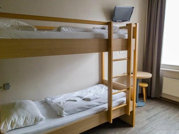Meininger Mitte Hotel Room in Berlin