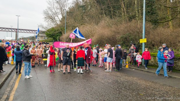 Parade Start at Loony Dook 2020