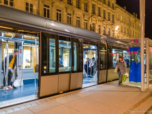 Tram in Bordeaux