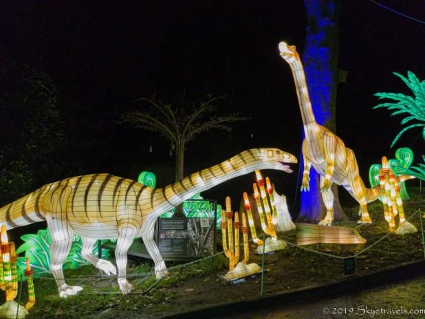 Various Dinosaur Lanterns #1