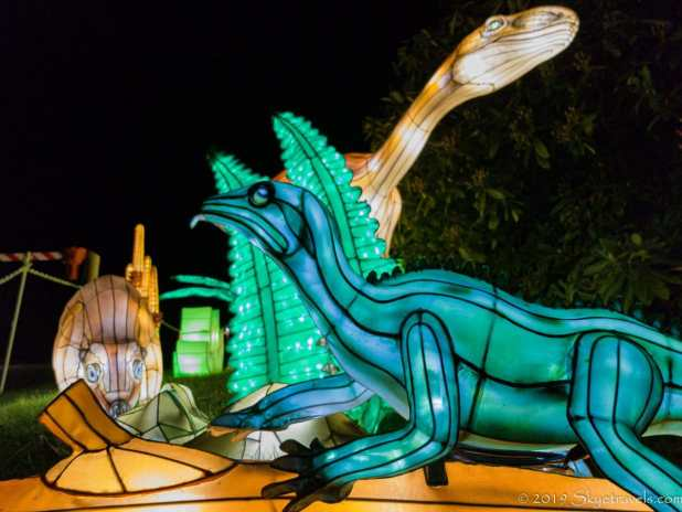 Various Dinosaur Lanterns #2