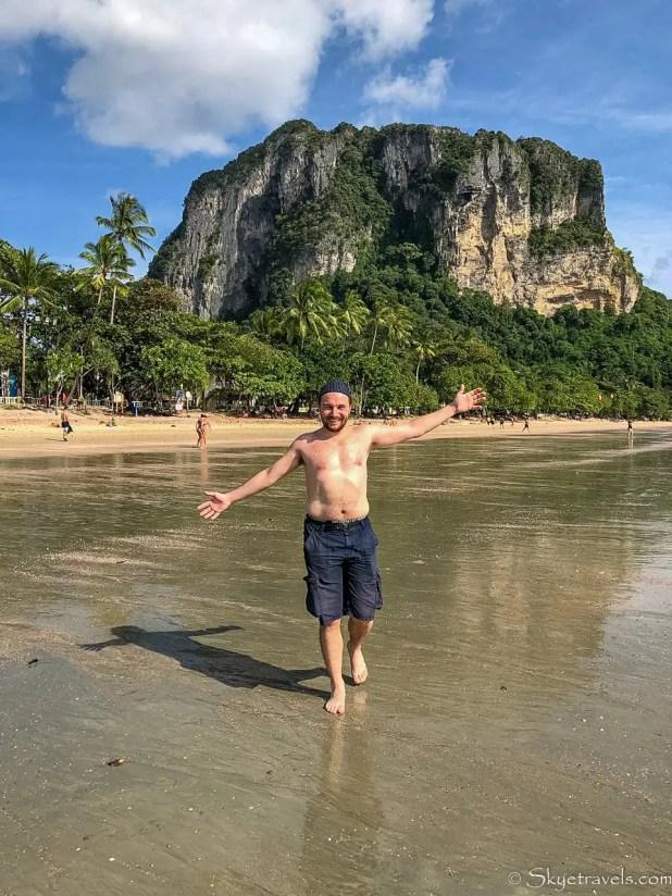 Selfie at Ao Nang Beach