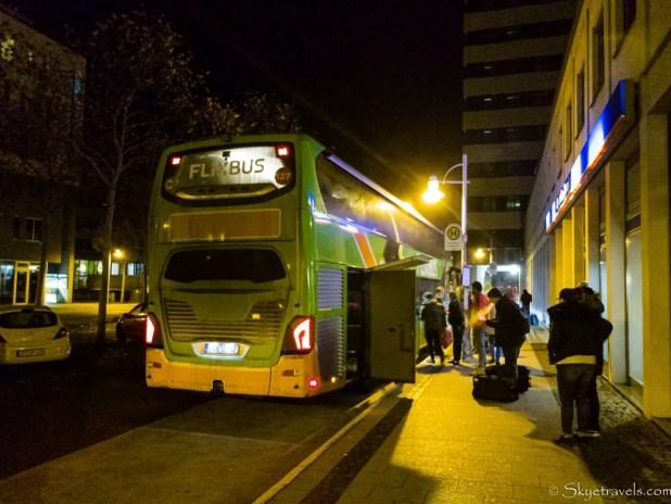 Flixbus in Koblenz