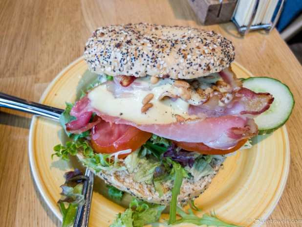BLT Bagel at Bagels and Beans in Rotterdam