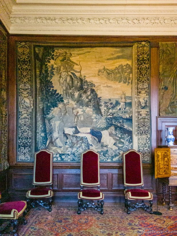 Holyrood Palace King's Ante-Chamber Tapestry