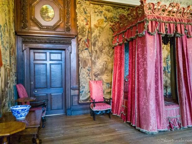 Holyrood Palace King's Bedchamber