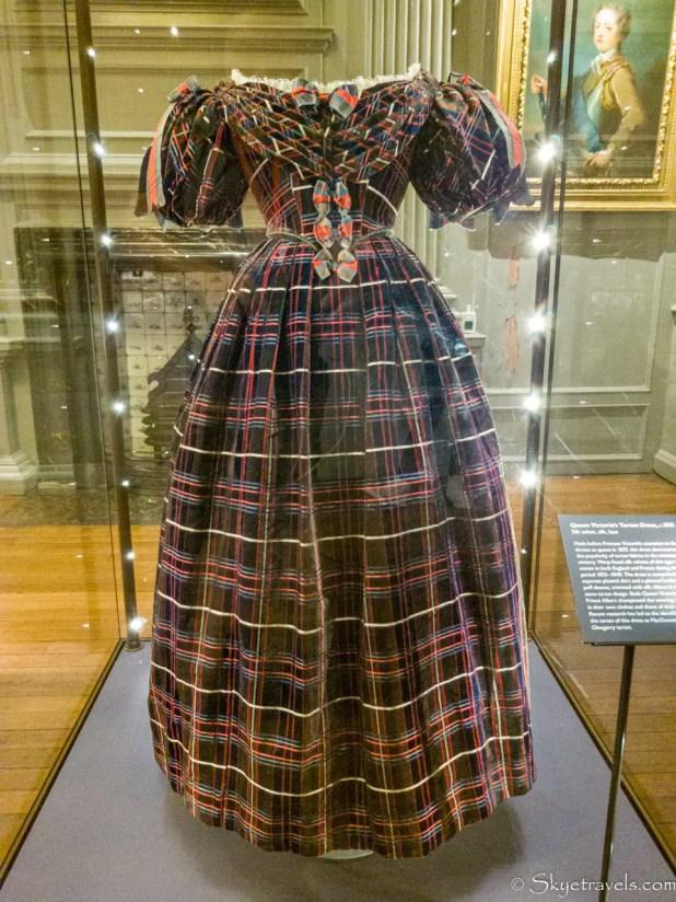 Holyrood Palace Tartan Dress