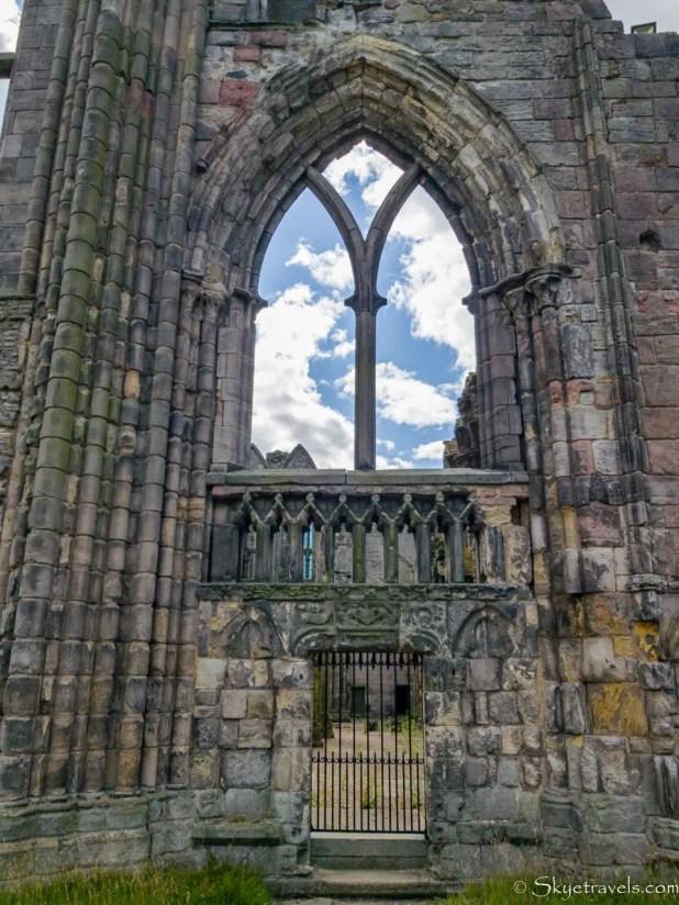 Holyrood Abbey Empty Window