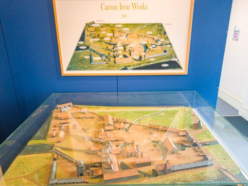 Carron Iron Works Display