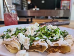 Chicken Quesadilla at El Enicio