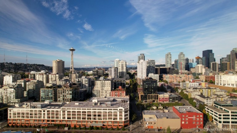 Seattle Skyline for Seattle City Pass