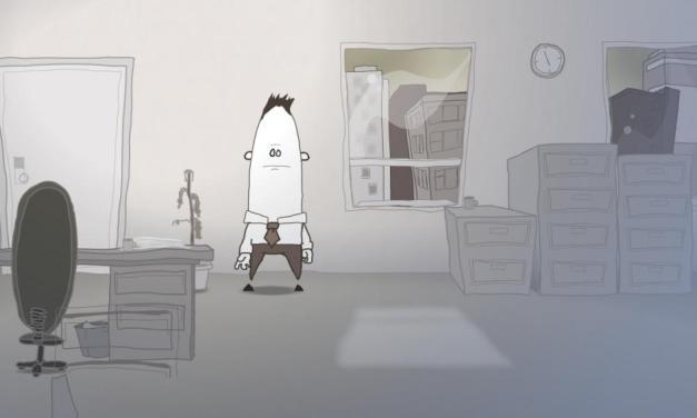 Una struggente versione di Creep dei Radiohead… animata