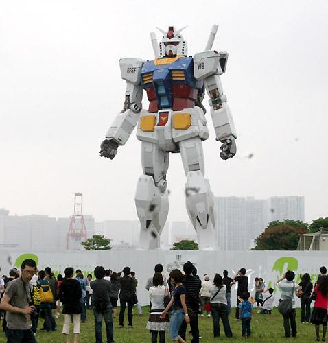 Gundam domina Odaiba