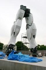 Le gambe in costruzione