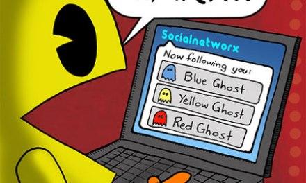 Se anche Pacman fosse su Twitter