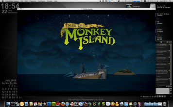 Tales of Monkey Island - Lo splash screen