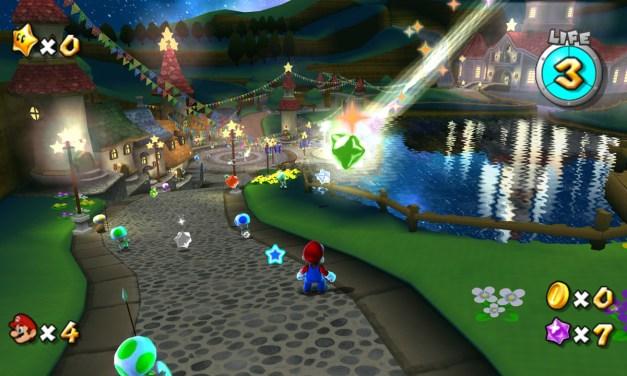 Super Mario Galaxy emulato a 720p