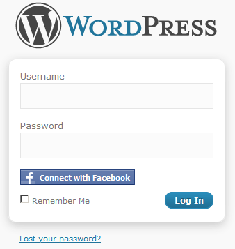 Simple Facebook Connect | Login su Wordpress
