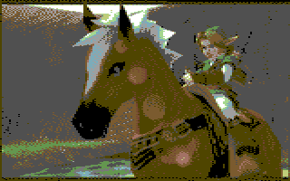 Link e Epona | C64 Yourself