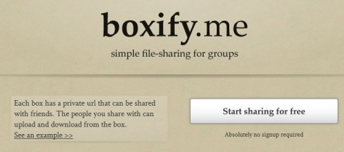 Boxify.me | Upload a file
