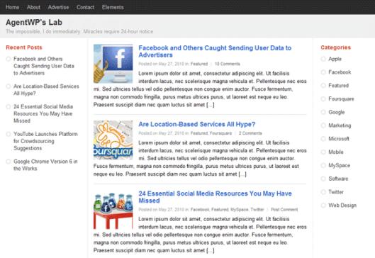 PlusOne | Tema Google+ per WordPress