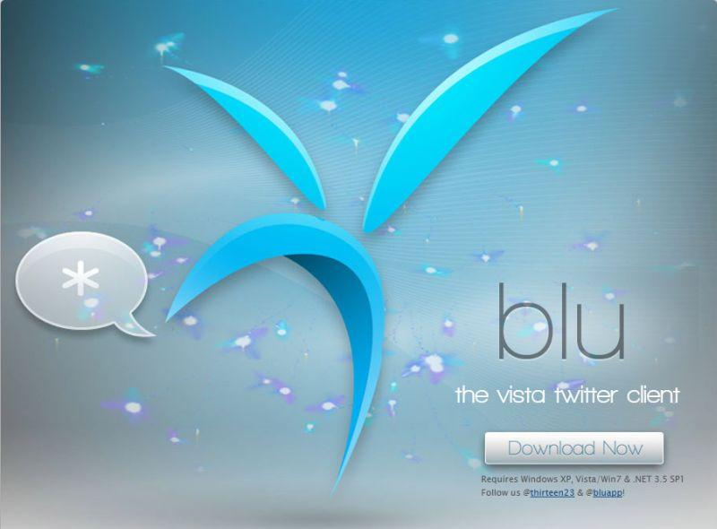 Blu: un client Twitter (gratis) per Windows