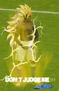 Balotelli Super Sayan