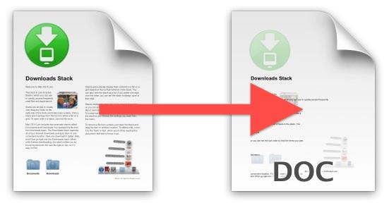 Convertire un file PDF in DOC, gratis!