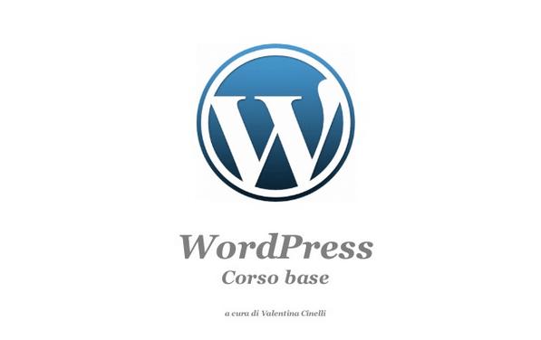 Iniziare con WordPress – Corso Base