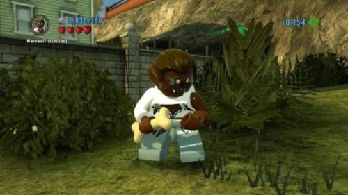 Lego City Undercover: Uomo Lupo