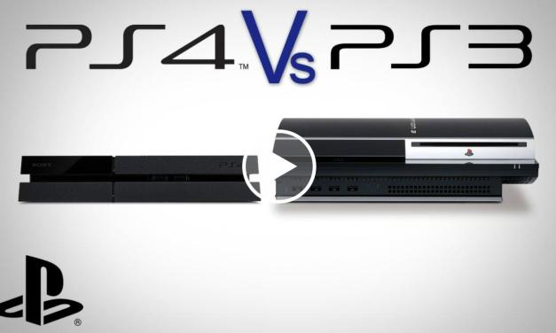 Playstation 4: le dimensioni rispetto a PS3 [video]