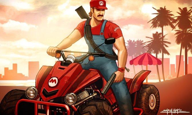 GTA - Mario