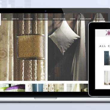 Skyindya Web Design Work - KC Fabrics