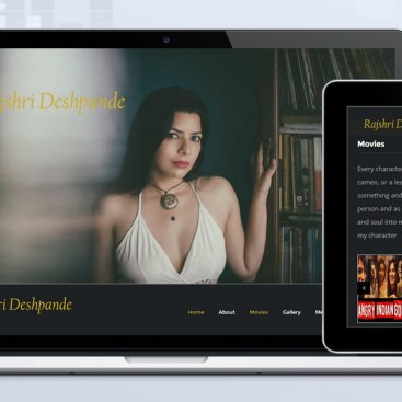 Skyindya Web Design Work - Rajshri Despande