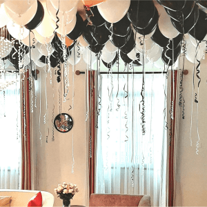 Helium Balloons Ceiling-fill Surprise