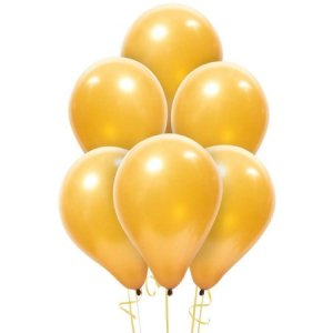 Gold Latex Balloon 12inch