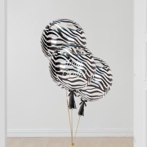 Inflated Tiger Animal Tiger Print Orb Balloon