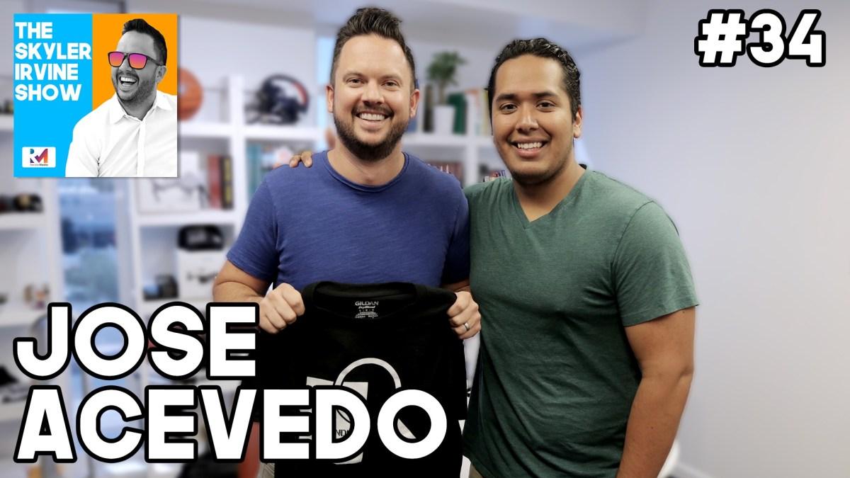 Finding Arizona Podcast Host Jose Acevedo | Episode 34 #theSKYLERIRVINEshow