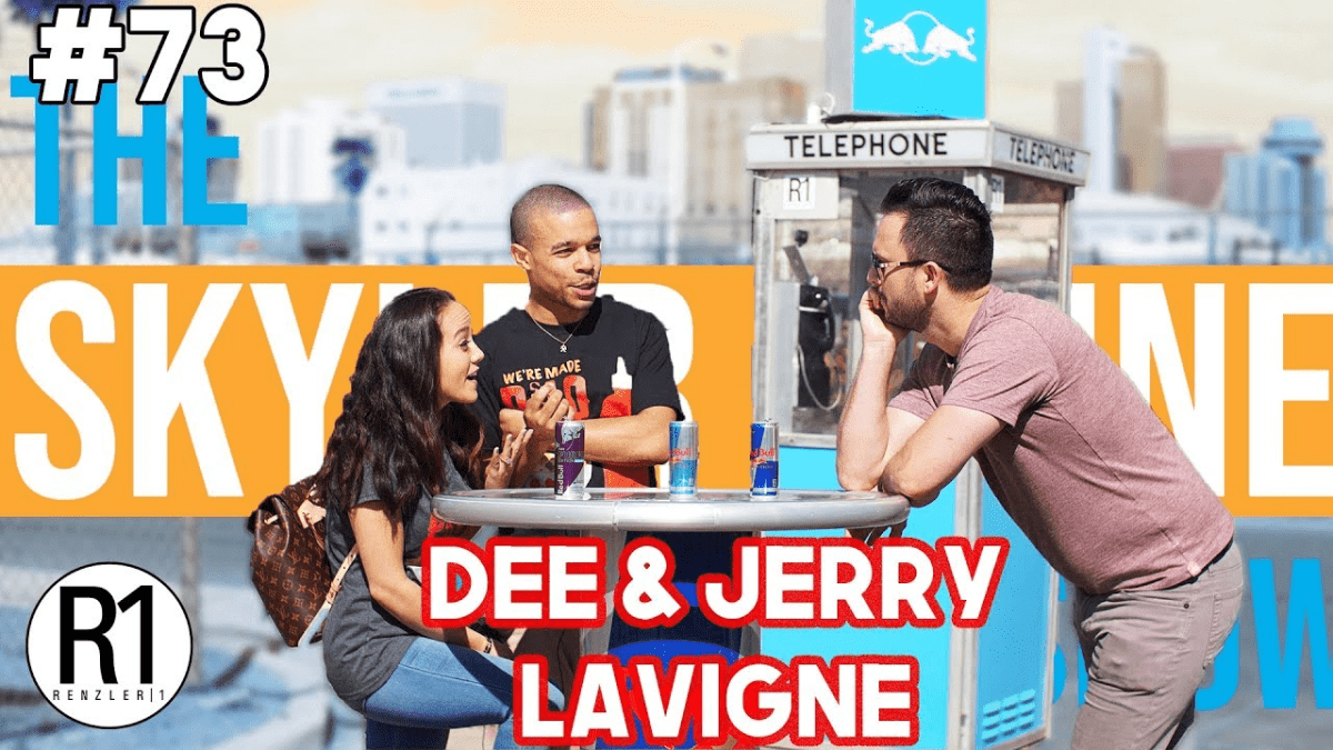 Family YouTubers Dee & Jerry Lavigne! | Episode 73 #theSKYLERIRVINEshow