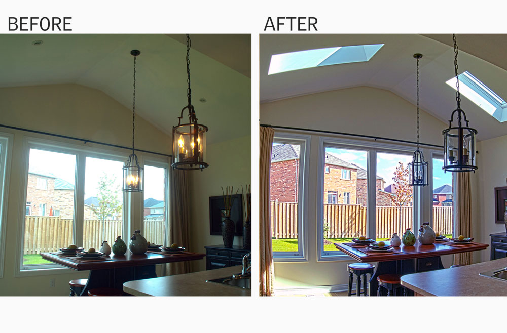 Skylights Bring Natural Light Into Your Home Enhancing