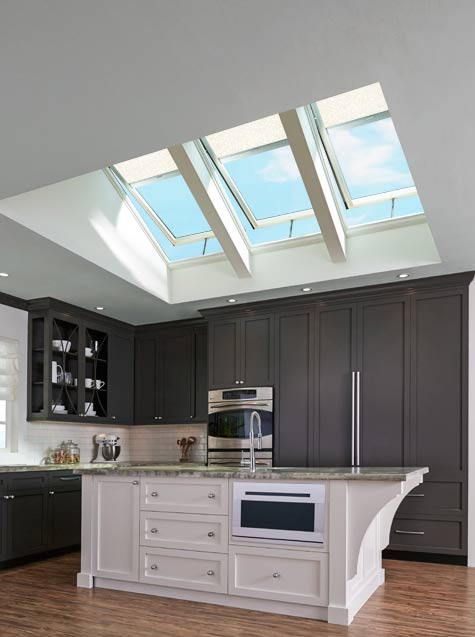 kitchen skylights aid cabinets of west texas let us brighten your life