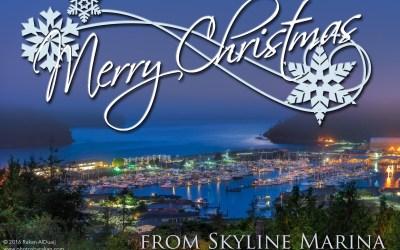 Merry Christmas from Skyline Marina!