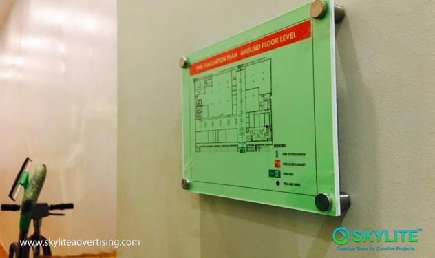 custom_evacuation_plan_sign