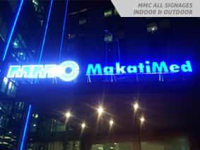 Makati Med Sign Maker Philippines